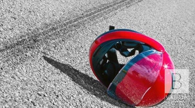На Чернігівщині в ДТП потрапили двоє підлітків на мотоциклі