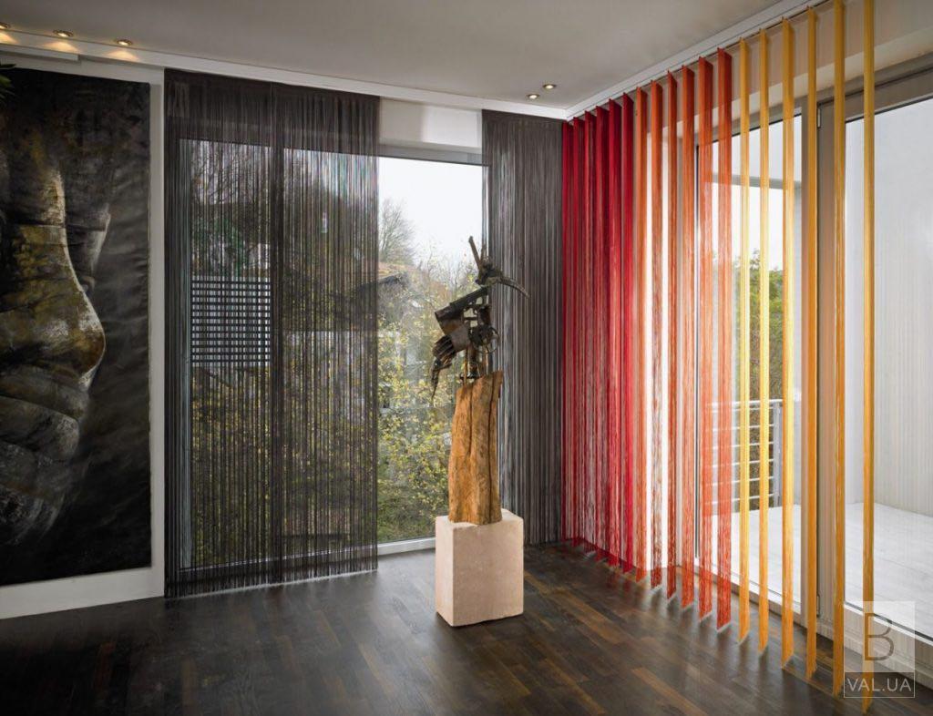 Что такое шторы-нити кисея. Разновидности и особенности.