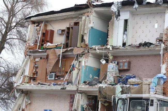 У Чернігові протягом року планують відбудувати обвалений гуртожиток на Попудренка 16