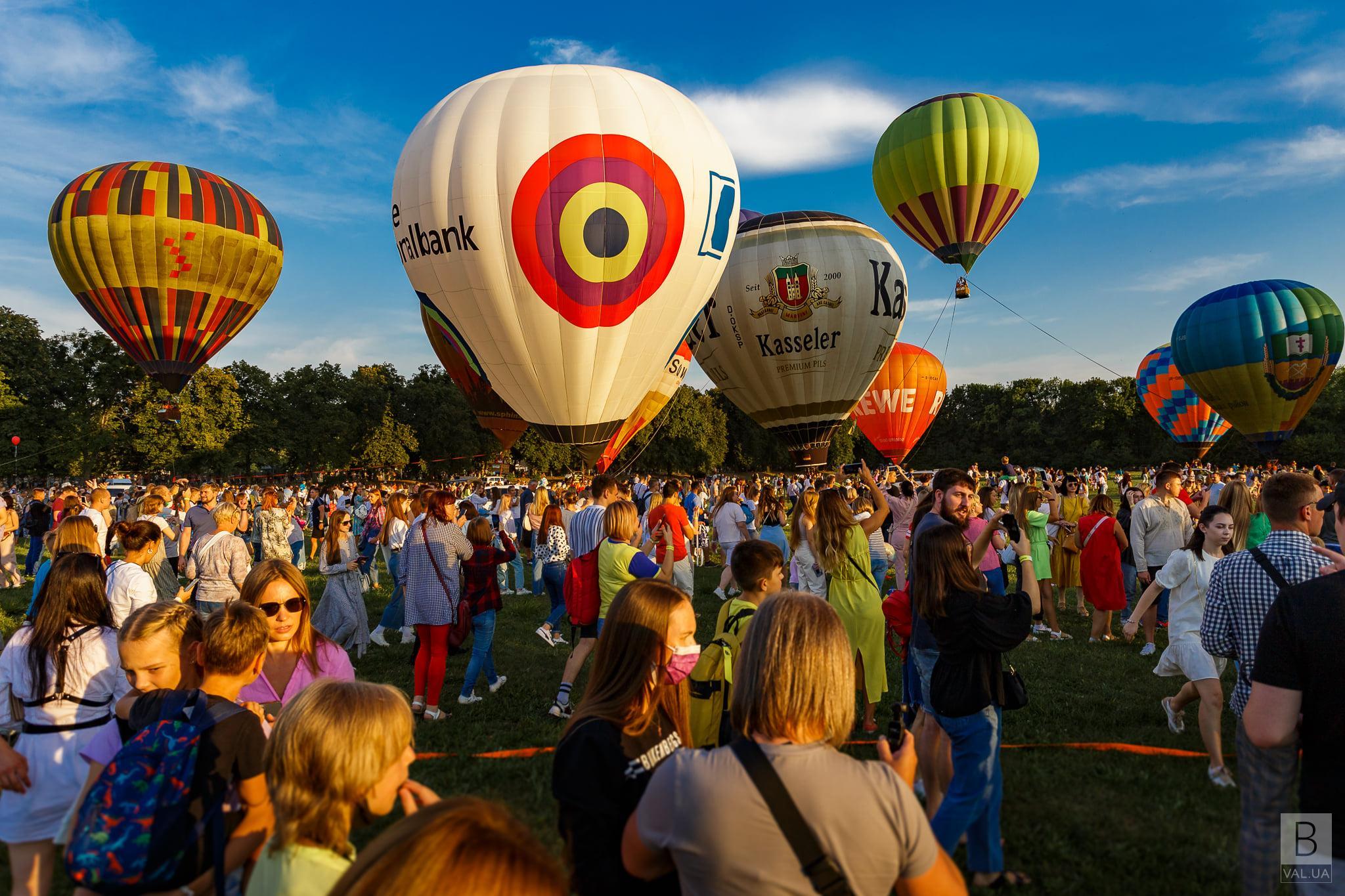 У Чернігові проведуть унікальний фестиваль повітряних куль