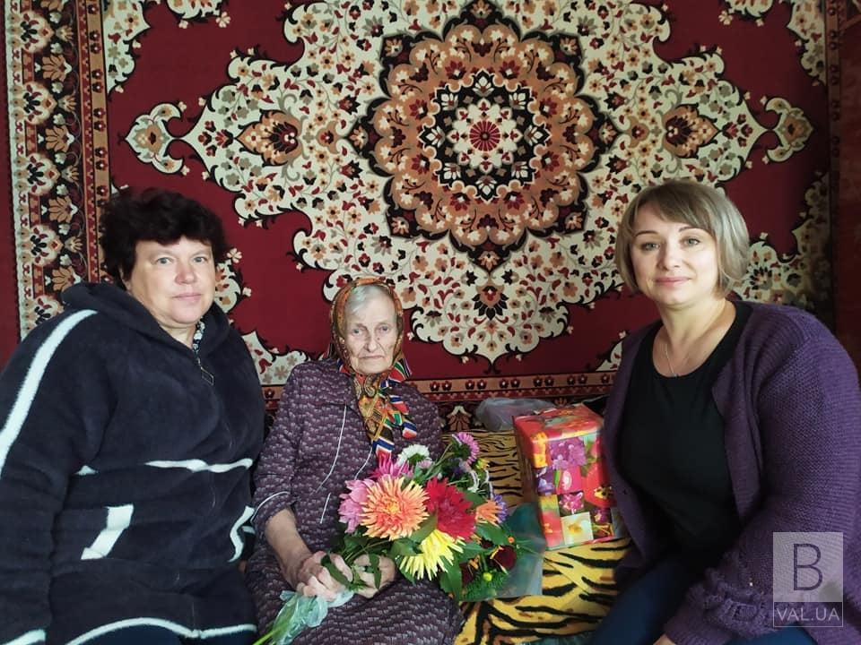 Жителька Менської громади відзначила поважний ювілей