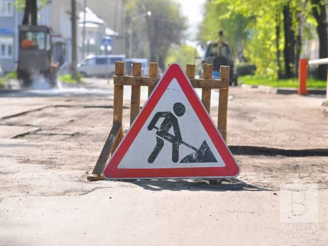 Перекриття руху транспорту на вулиці Київській продовжать до листопада