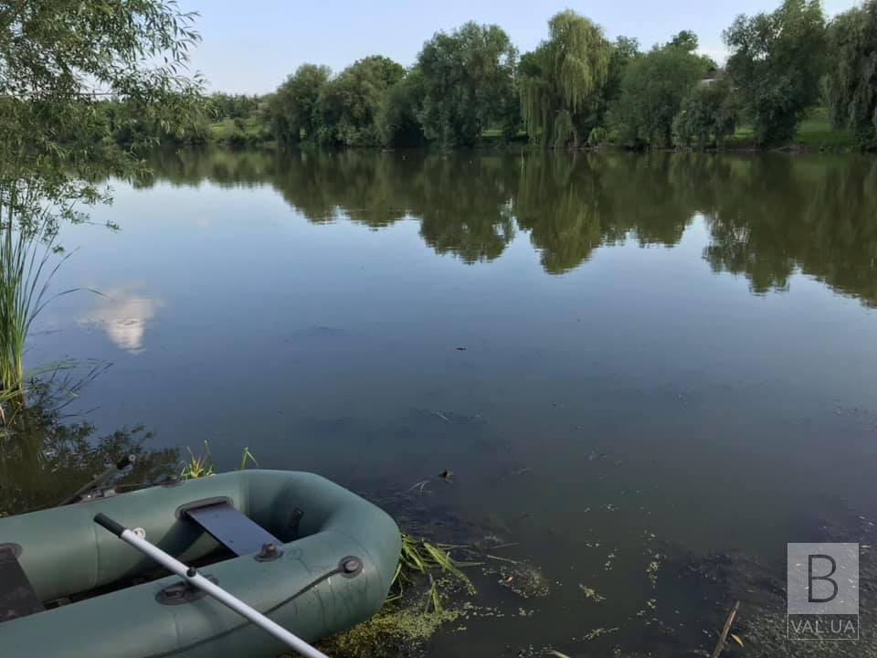 У Коропській громаді з озера дістали тіло 65-річного потопельника