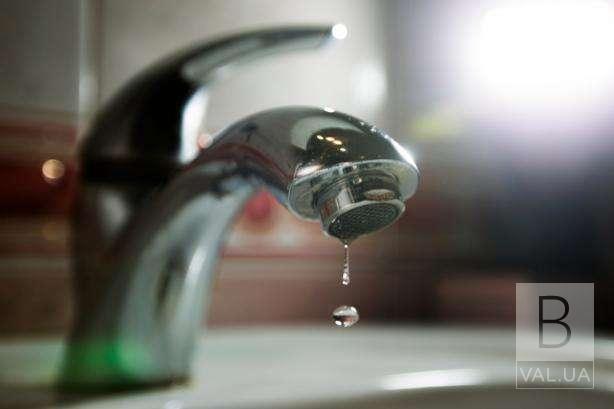 У Чернігові через аварію на водпроводі без води залишились мешканці 16 багатоповерхівок