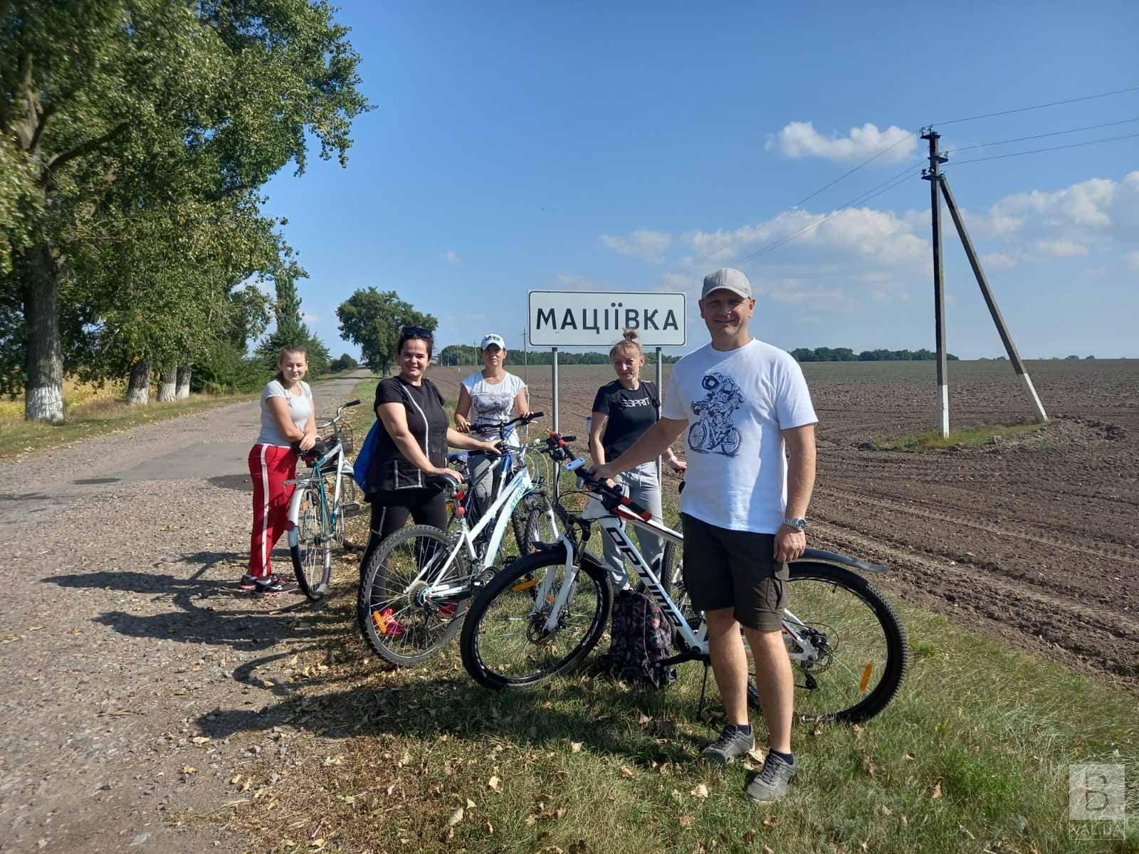 Борщ з малиною і «Маціївські Карпати»: на Чернігівщині відкрили унікальний веломаршрут. ФОТО