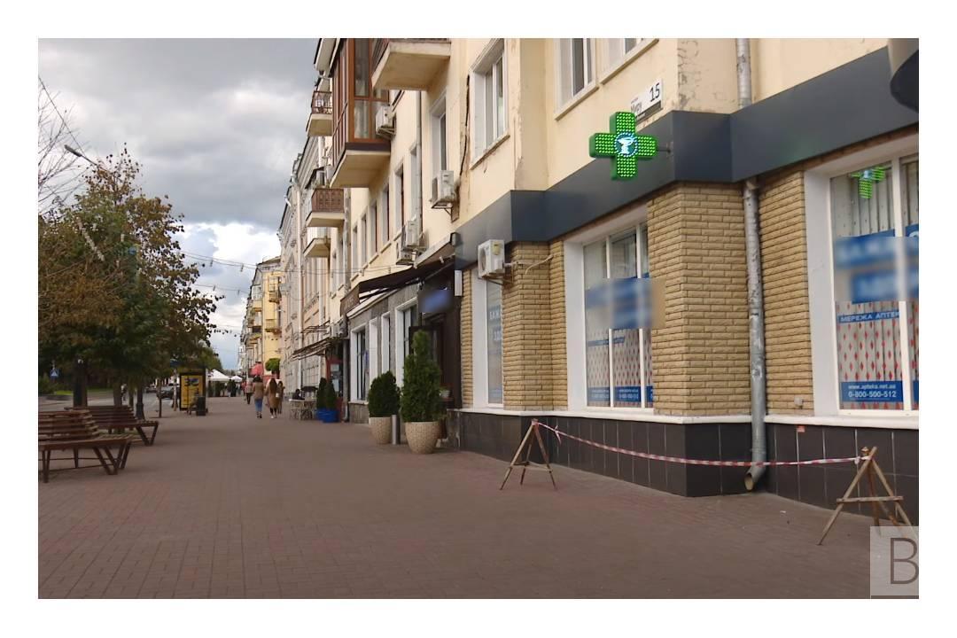 У центрі Чернігова демонтують майже 70 «кричущіх» вивісок