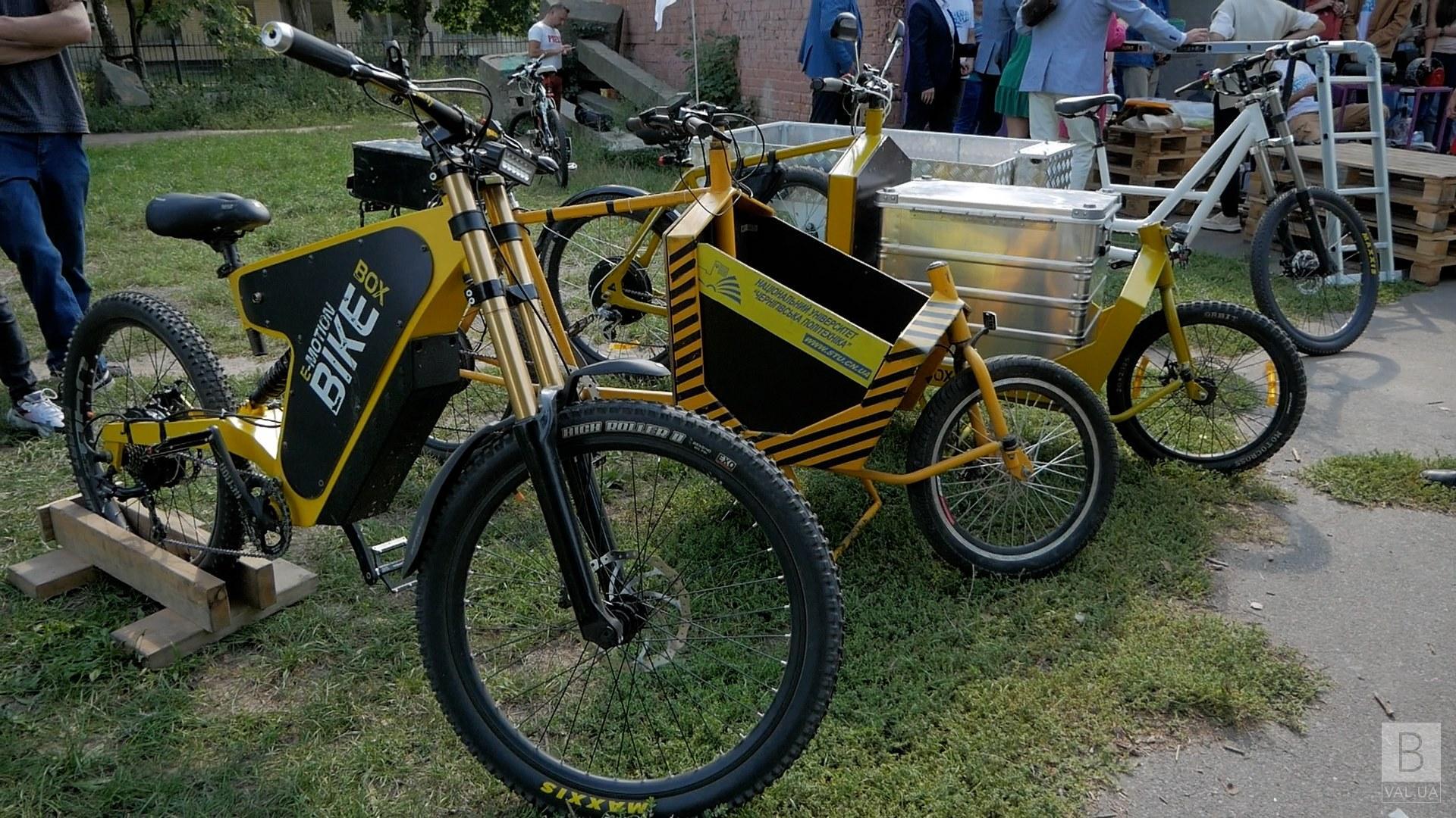 У Чернігові створили електровелосипед, вантажопідйомністю до 500 кг ВІДЕО