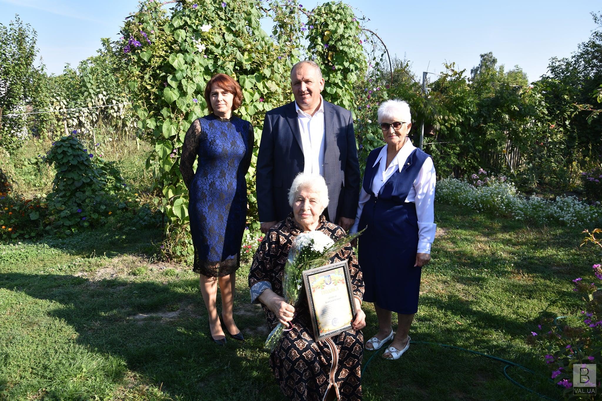 Вчителька з Чернігівщини відсвяткувала 101-річчя