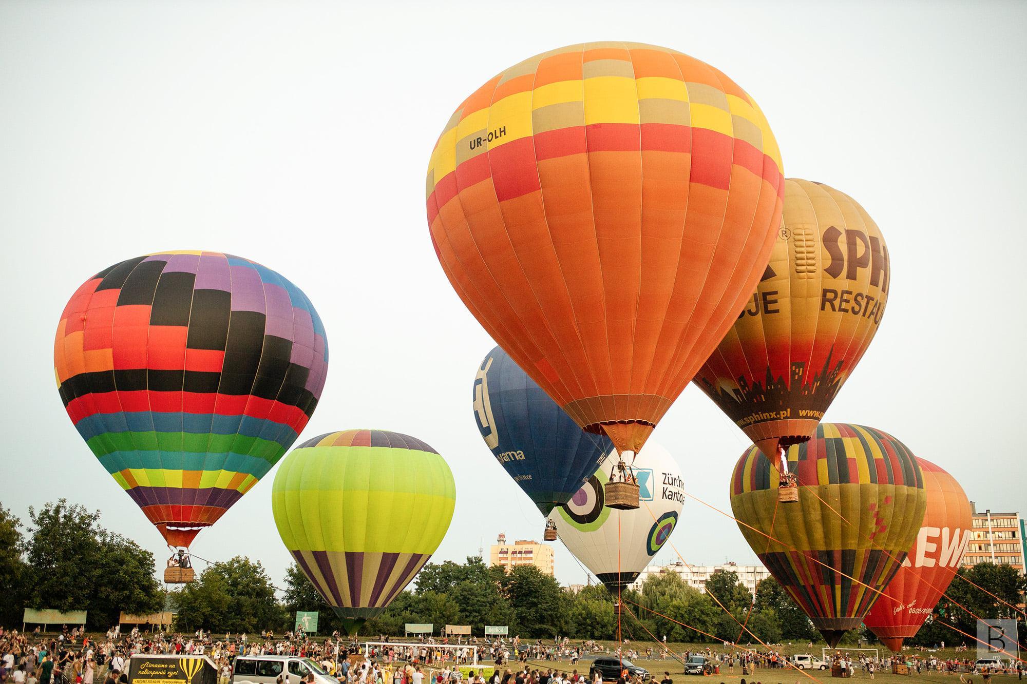 Через негоду: фестиваль повітряних куль у Чернігові перенесли на 1 жовтня