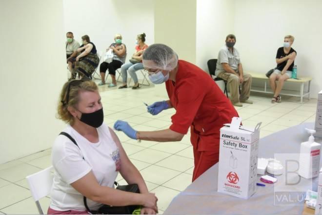 Як працюватимуть центри масової вакцинації у Чернігові цими вихідними