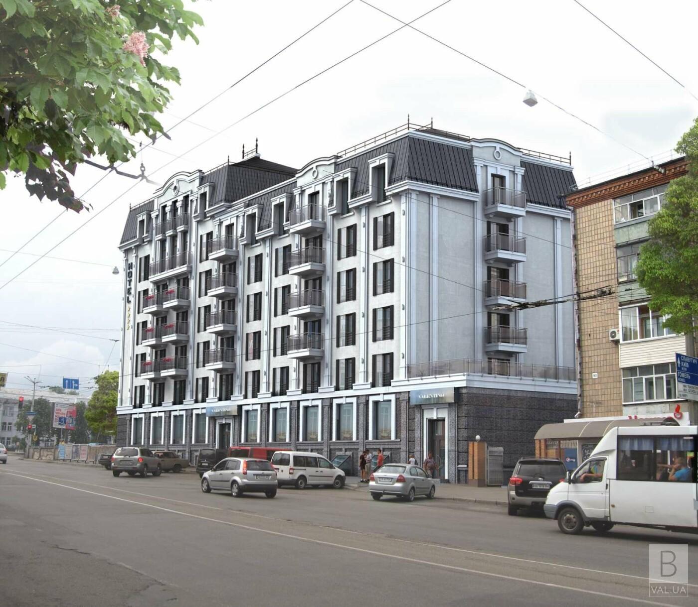 Реконструкція готелю «Україна» у Чернігові: що зміниться? ФОТО
