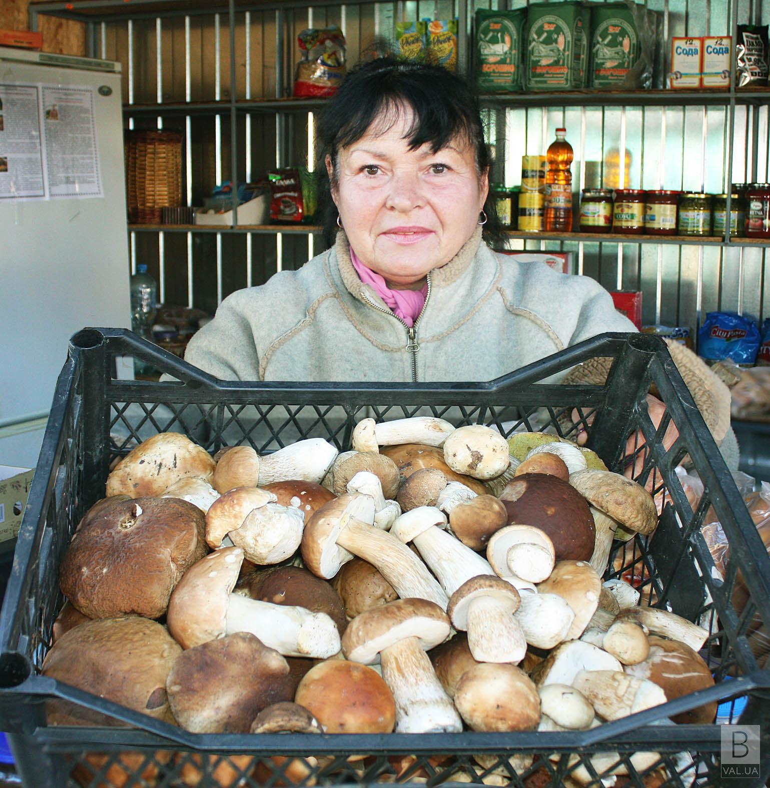 Скільки на Чернігівщині можна заробити на грибах? ФОТО
