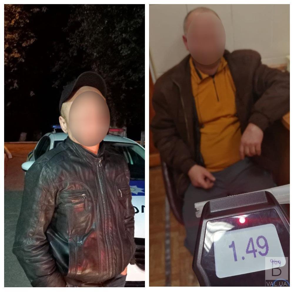 Завдяки небайдужим чернігівцям патрульні виявили двох п'яних водіїв. ФОТО