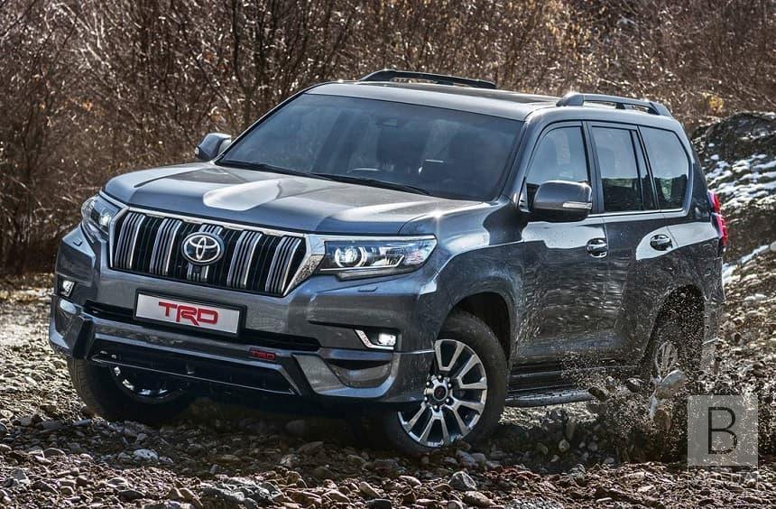 Чернігівський військовий лісгосп купив позашляховик «Toyota Land Cruiser Prado»