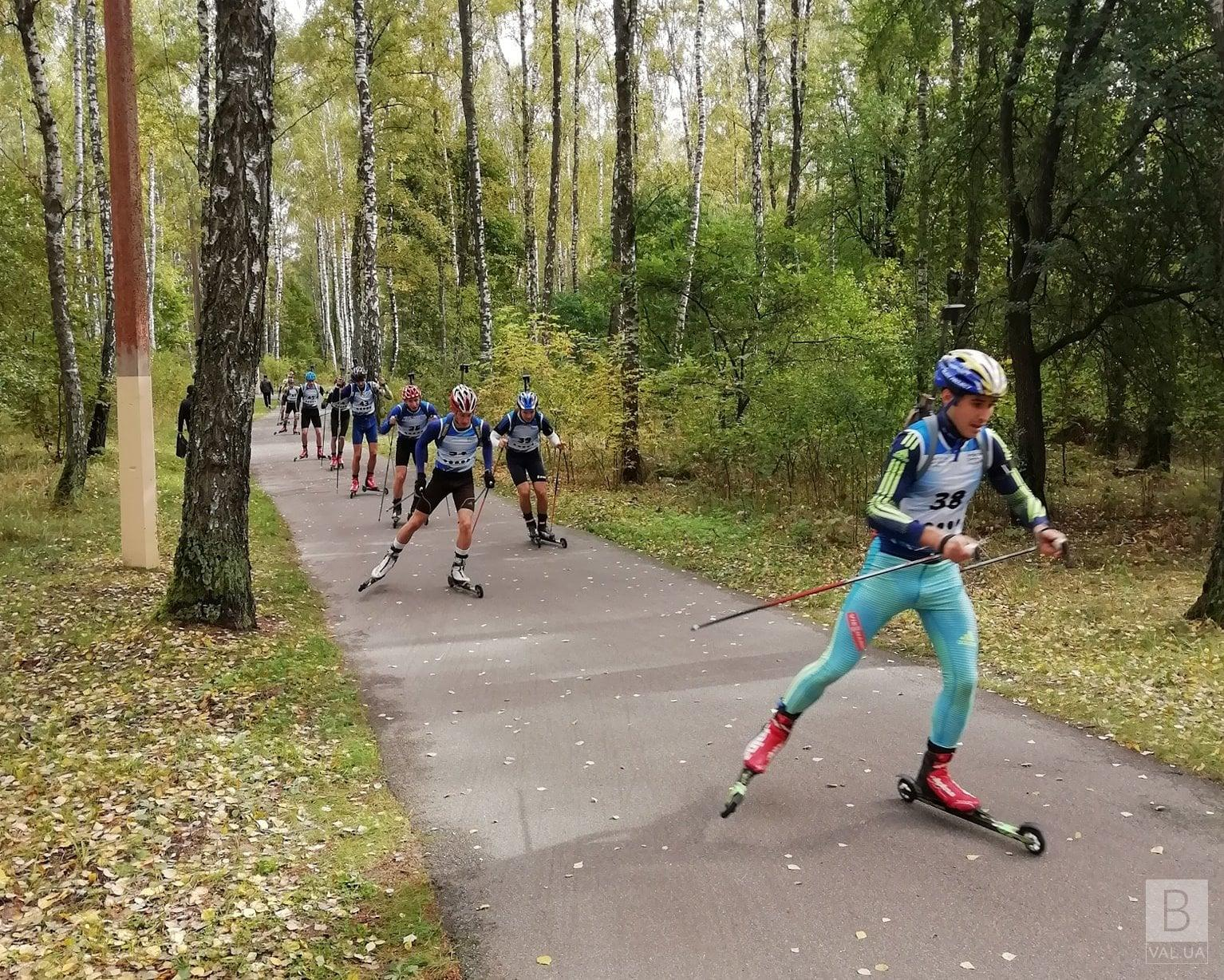 Спортсмени з Чернігівщини здобули вісім медалей на чемпіонаті України з лижних гонок на лижоролерах