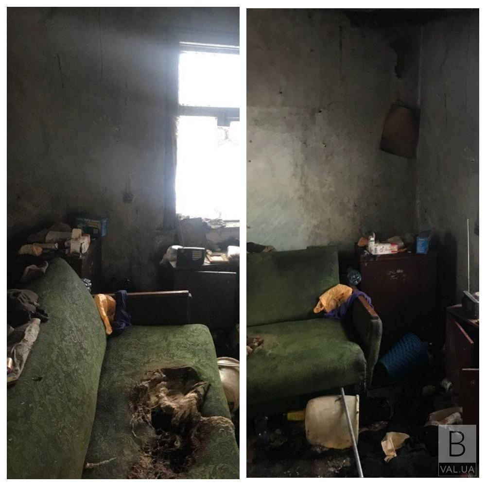 Пожежа в Городні: господаря з отруєнням чадним газом госпіталізували до лікарні