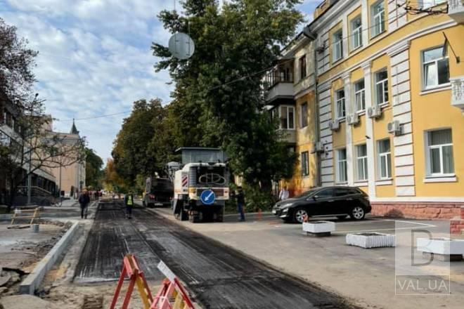 На вулиці Святомиколаївській відремонтують дорогу і тротуари. ФОТО