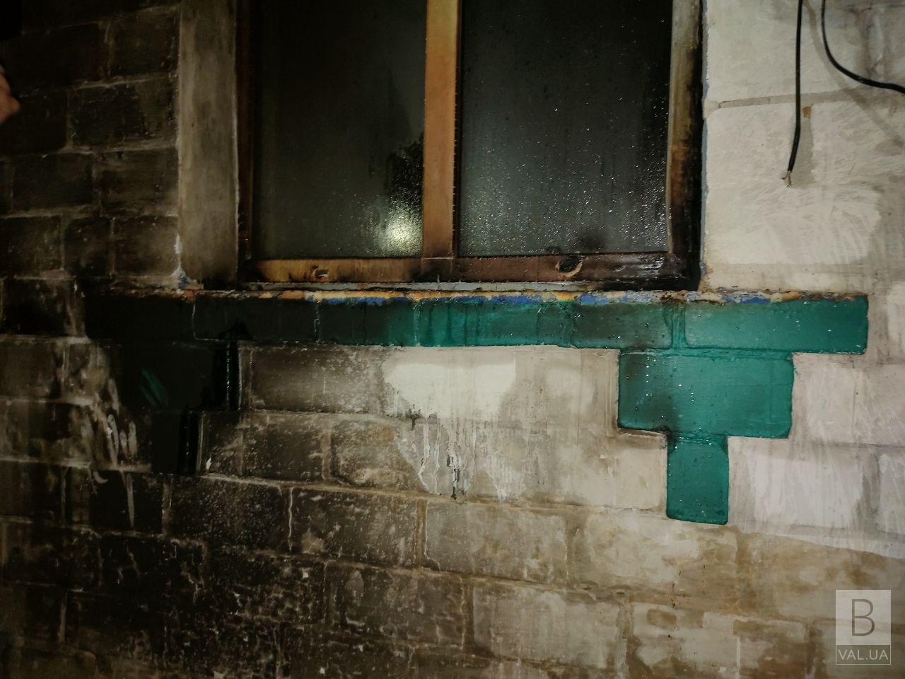 У Чернігові підпалили житловий будинок