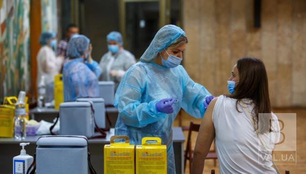 Майже 20% населення Чернігівщини повністю вакциновані від COVID-19