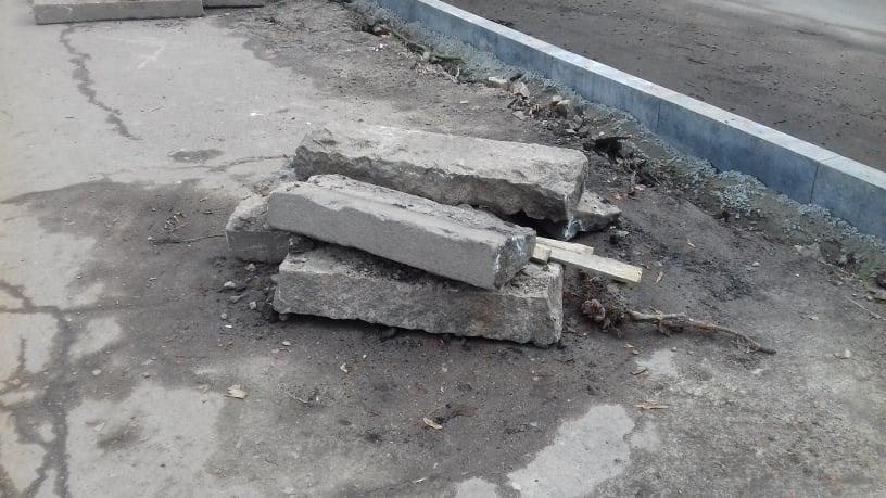 В Чернігові почали ремонтувати Гончу. ФОТОфакт