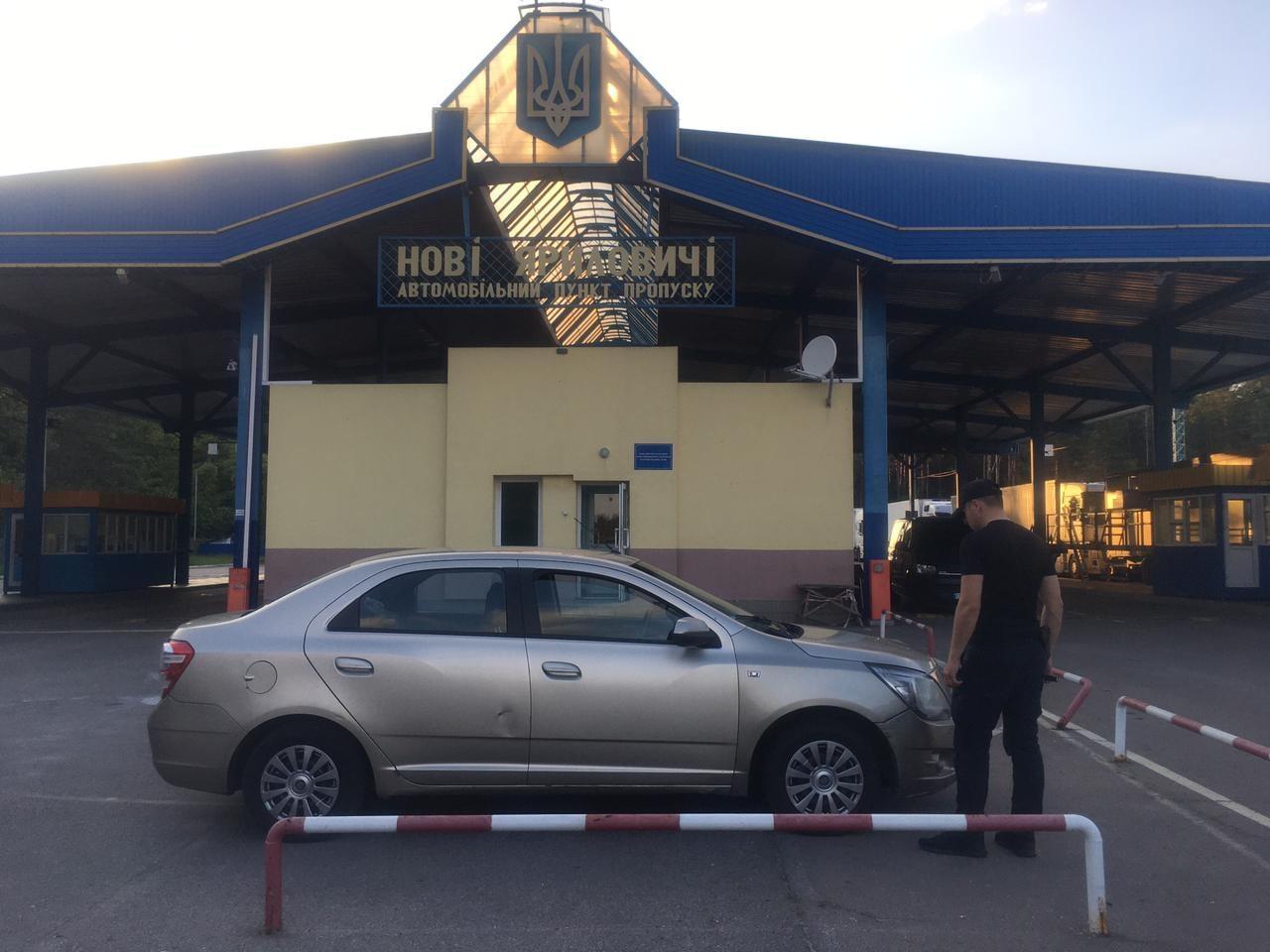 У Нових Яриловичах прикордонники зупинили росіянина, який напідпитку подав заяву про викрадення автівки