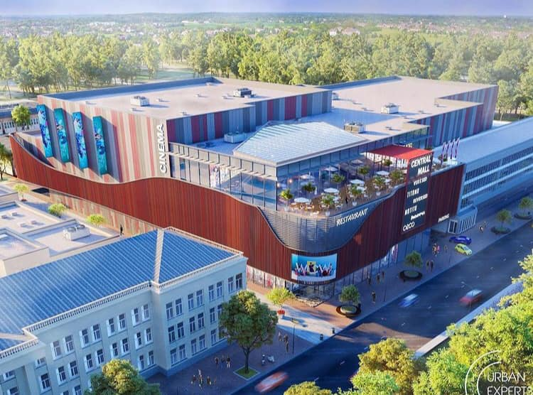 У Чернігові з'явиться новий ТРЦ за сотні мільйонів гривень. ФОТО