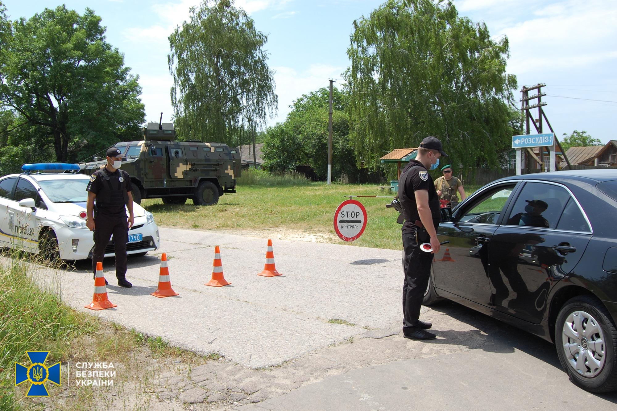 На Чернігівщині СБУ звільняла «заручників»: пройшли антитерористичні навчання. ФОТО