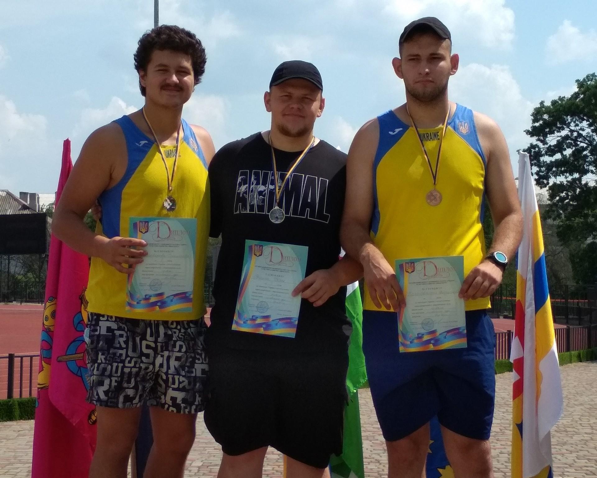 Чернігівець став чемпіоном зі штовхання ядра серед спортсменів з порушеннями слуху