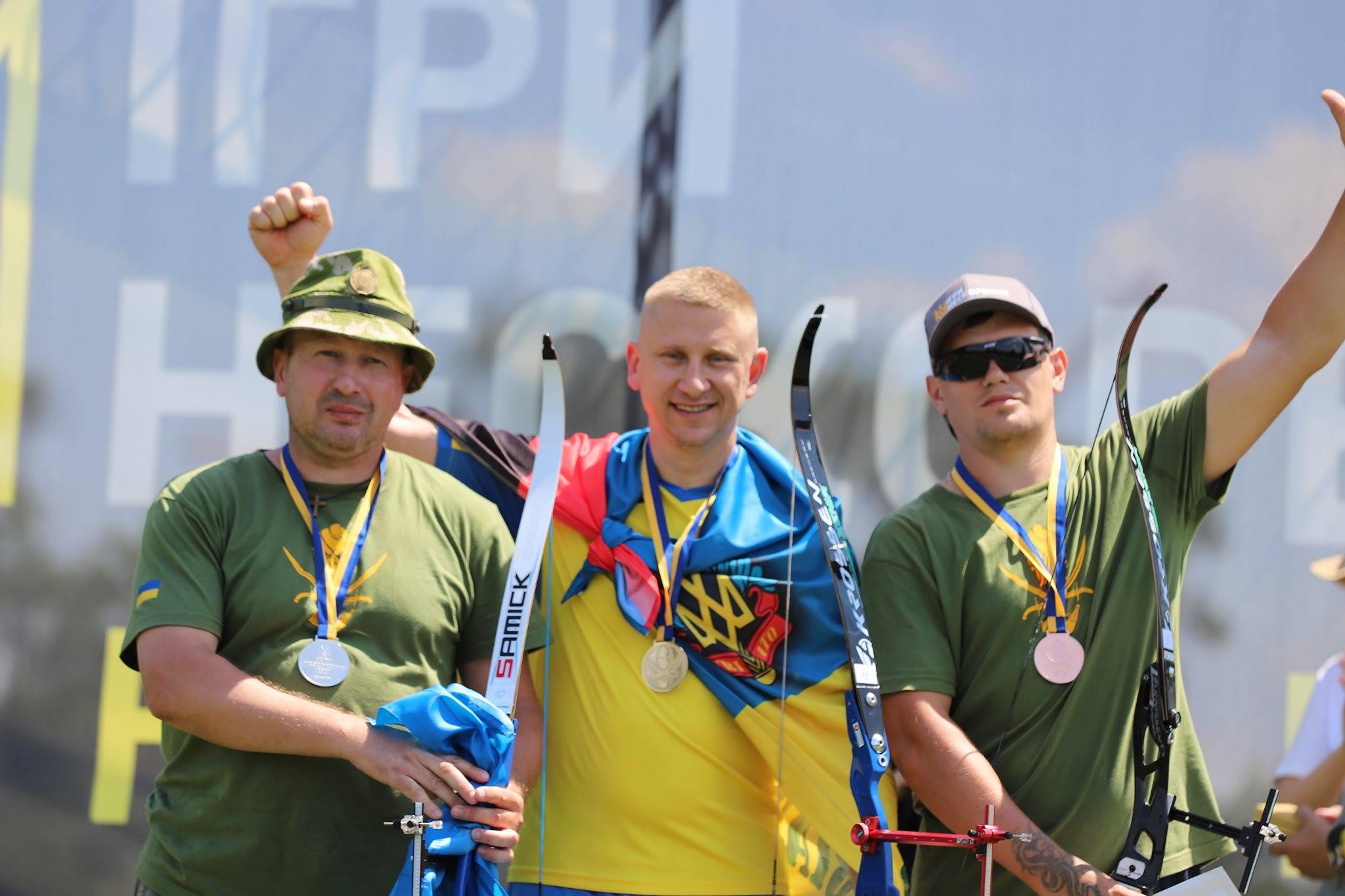 Чернігівські ветерани на «Іграх Нескорених» здобули сім нагород. ФОТО