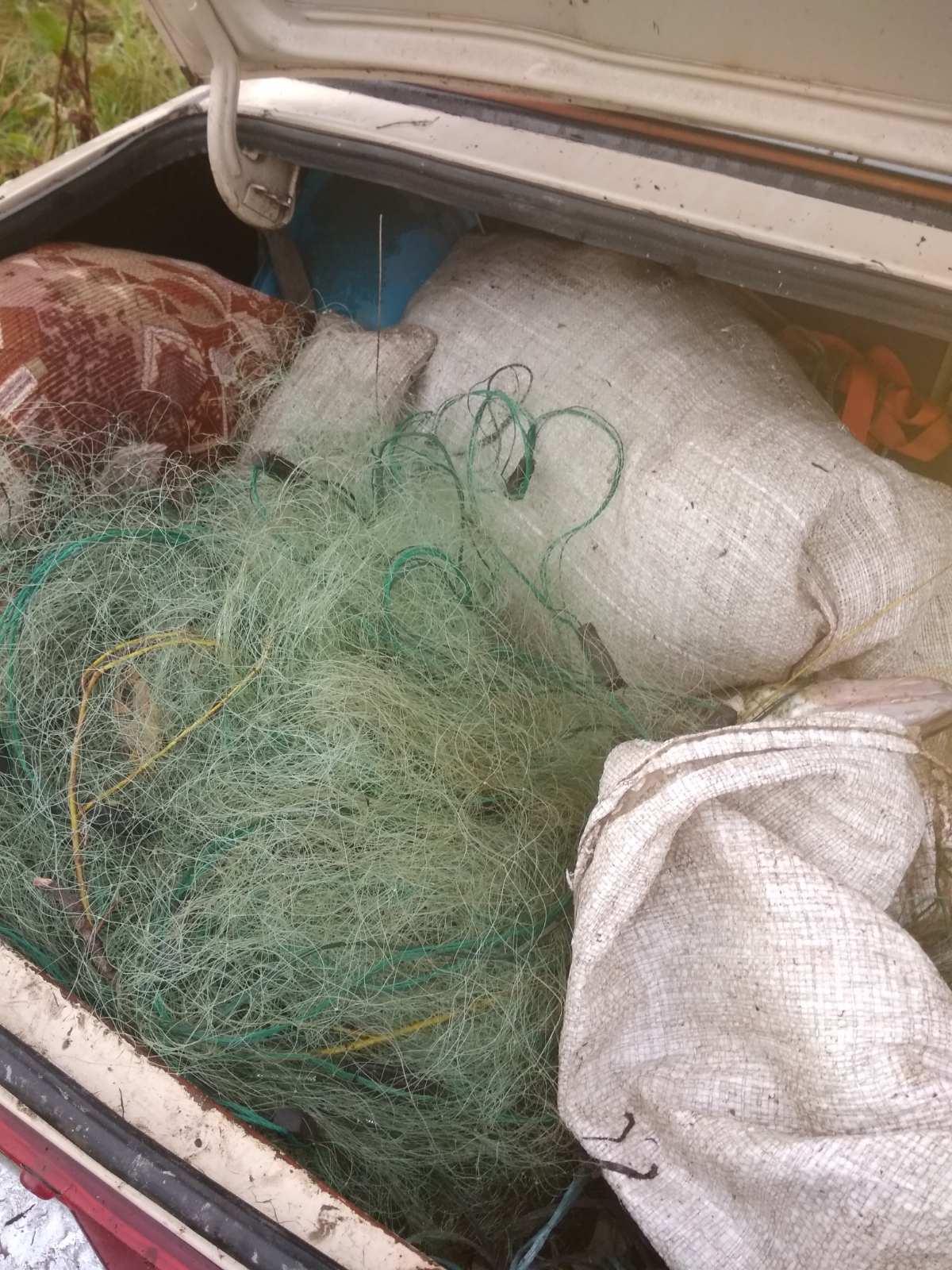 На Новгород – Сіверщині браконьєри наловили понад 20 кілограмів риби. ФОТО