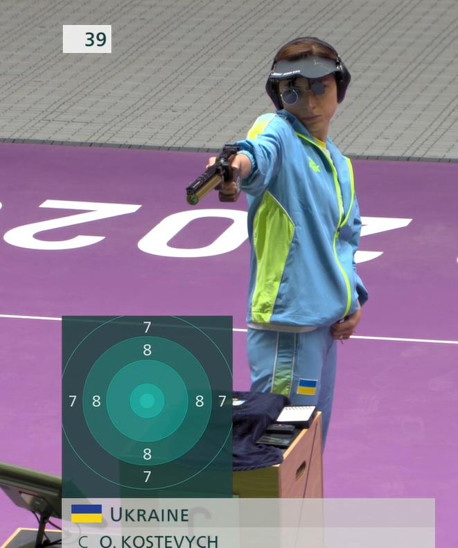 Українські стрільці Олена Костевич і Олег Омельчук здобули «бронзу» на Олімпіаді в Токіо
