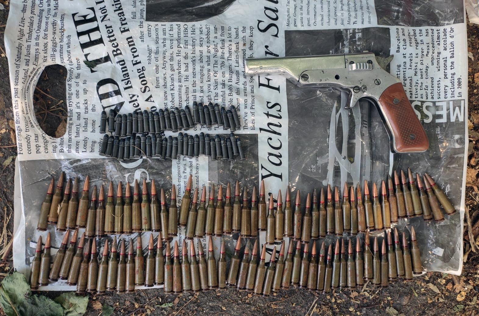 У Ніжині затримали раніше судимого торгівця зброєю. ФОТО