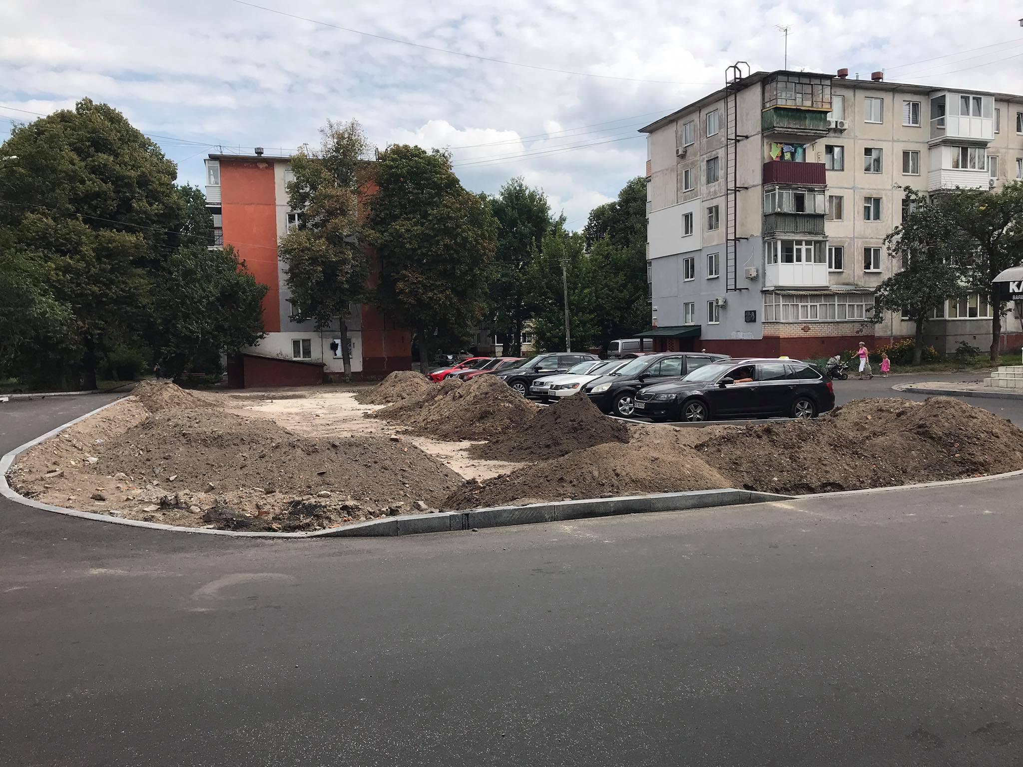 На П'яти кутах та Родимцева: у Чернігові незабаром з'являться два нових сквери. ФОТО