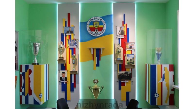 На ніжинському стадіоні «прописався» Музей футболу. ФОТО