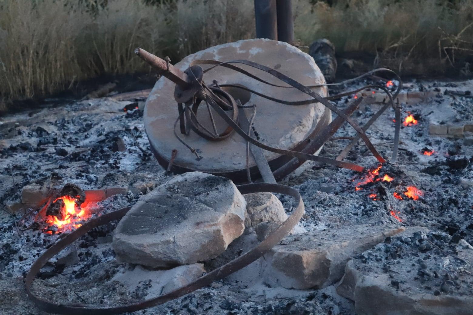 На Чернігівщині підпалили млин. За інформацію про паліїв оголосили грошову винагороду. ФОТО