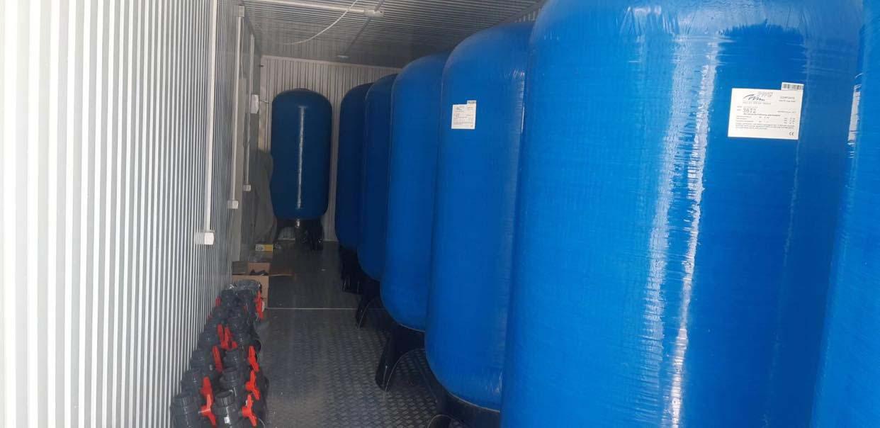 Перша у Чернігові: станцію знезалізнення води хочуть підключити до кінця вересня