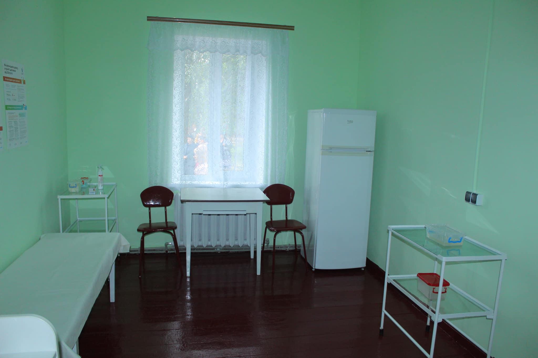 Упродовж кількох місяців у селі на Чернігівщині капітально оновили амбулаторію. ФОТО