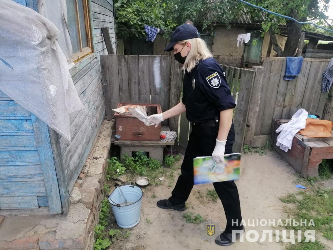 На Чернігівщині чоловік підпалив свою дружину. Вона у реанімації. ФОТО