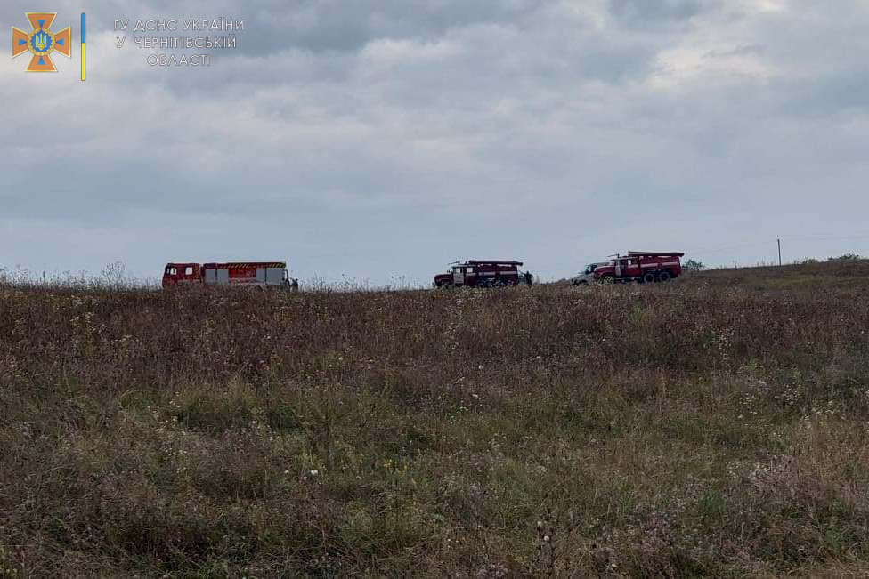 На Чернігівщині стався виток нафти на ґрунт площею 100 кв.м. ФОТО
