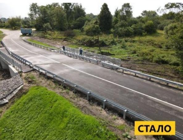 У Сновській громаді завершується капітальний ремонт мосту. ФОТО