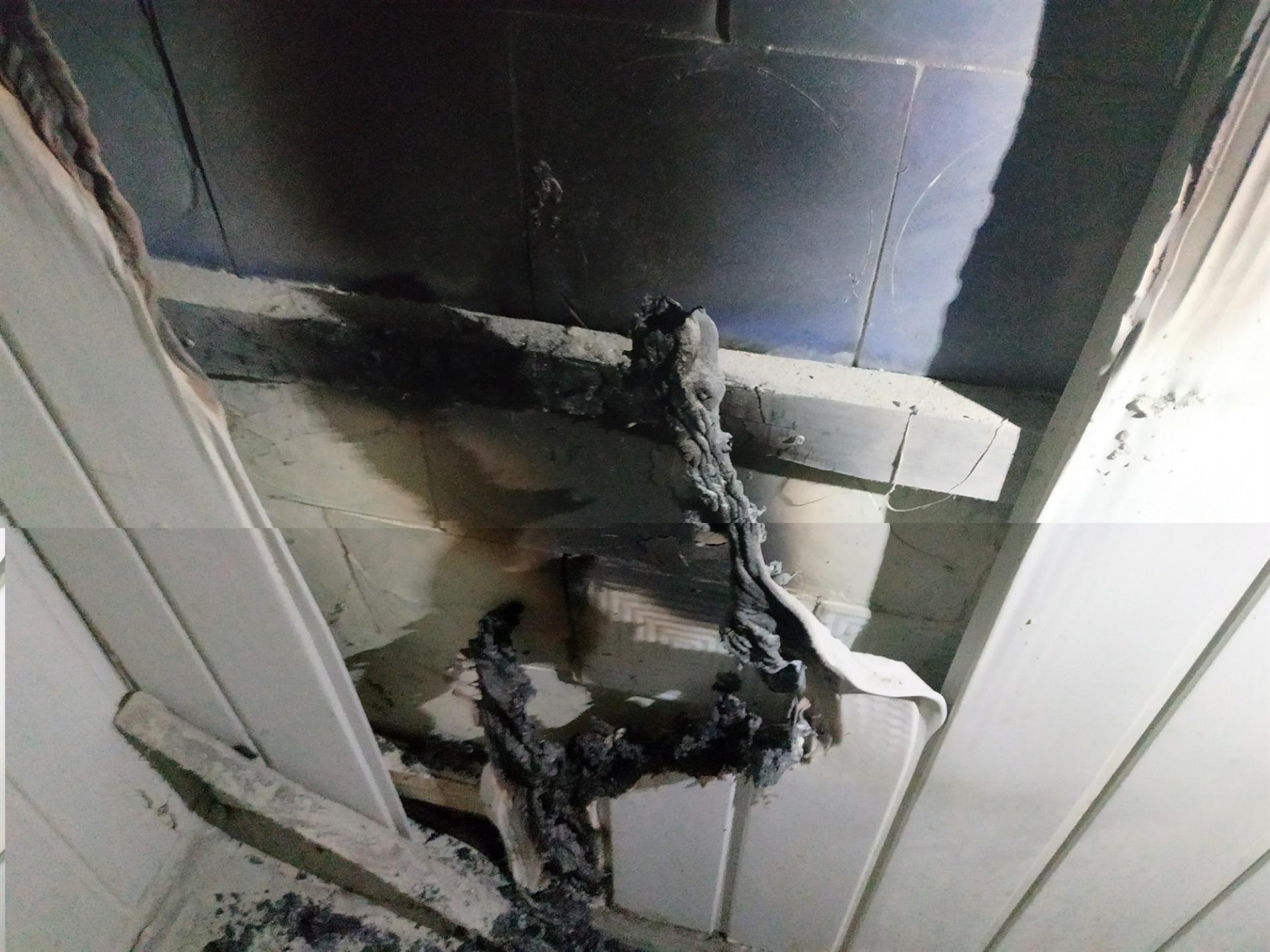 На Чернігівщині виникла пожежа у будинку для літніх людей