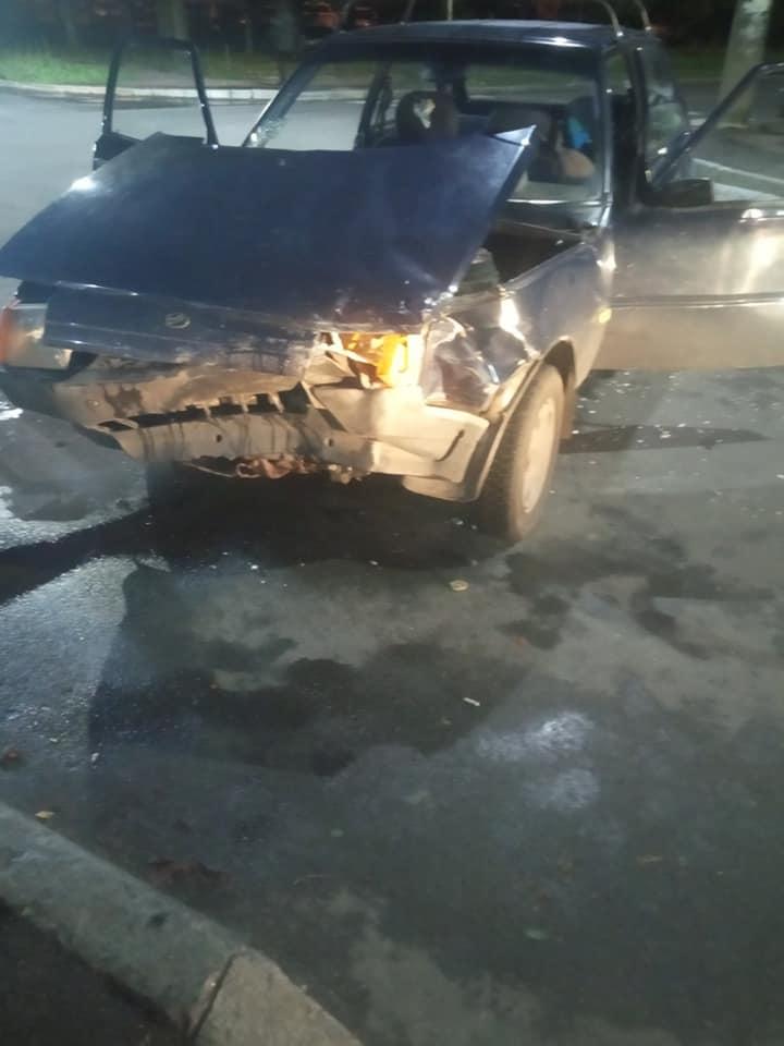 В ДТП на перехресті вулиць П'ятницької та Софії Русової травмувалася жінка. ФОТО