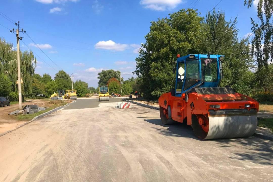 Вулицю Олександрівську готують до вкладання нового асфальту. ФОТО
