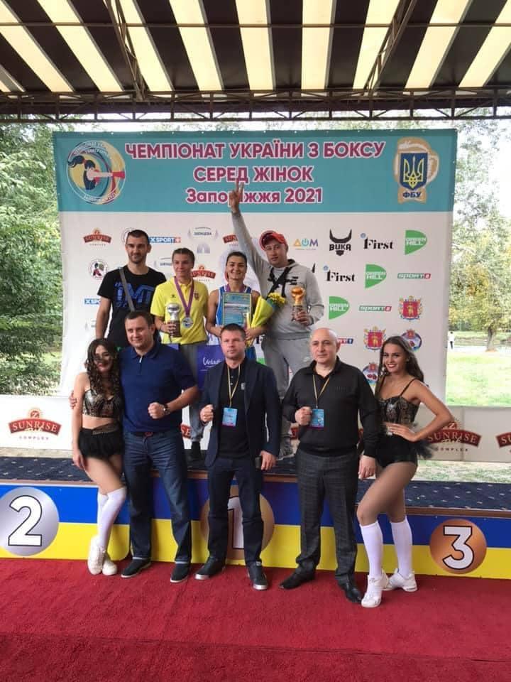 Збірна Чернігівщини посіла третє місце на чемпіонаті України з жіночого боксу