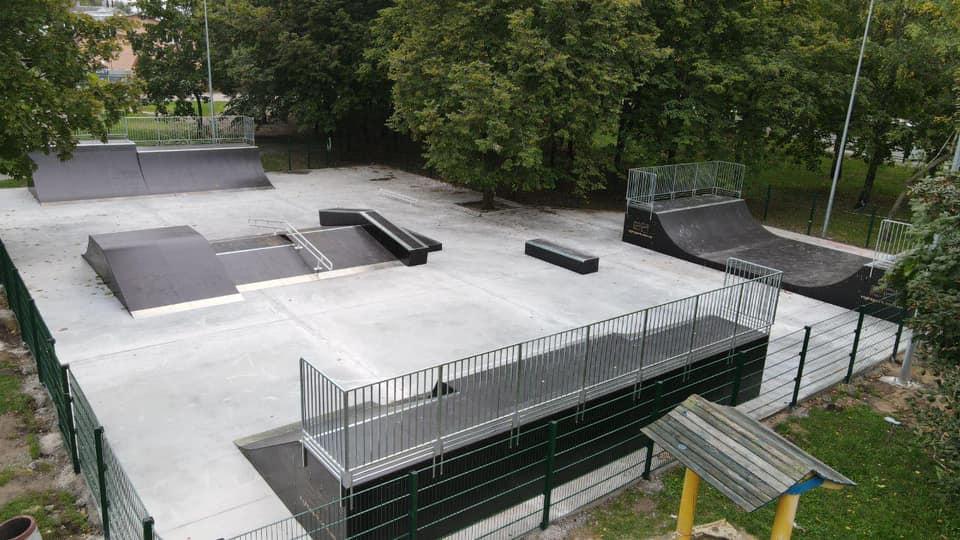 Будівництво скейт-парку у Березовому гаю добігає кінця. ФОТОфакт