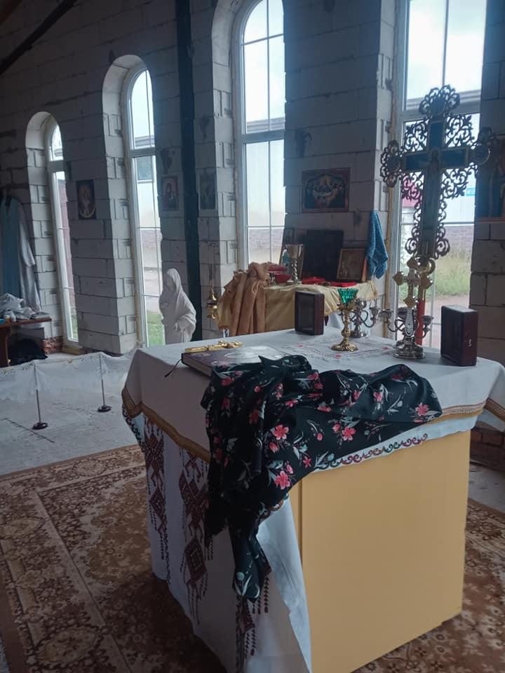 На Ремзаводі обікрали гарнізонний храм. ФОТОфакт