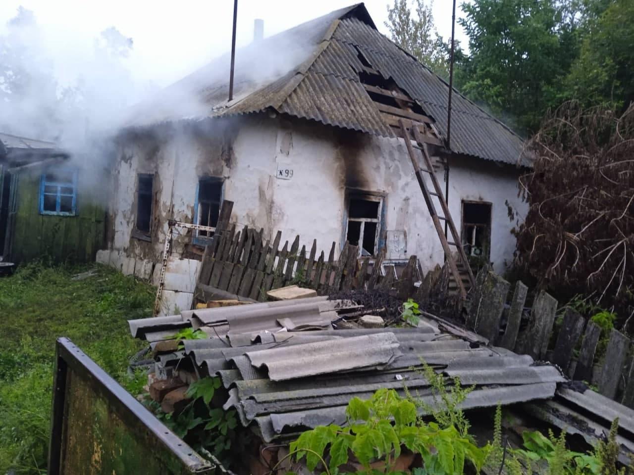У Бобровицькій громаді за добу сталися дві смертельні пожежі. ФОТО