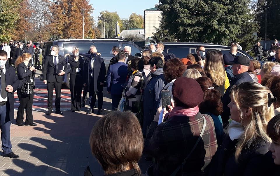 До Корюковки приїхав Президент Німеччини