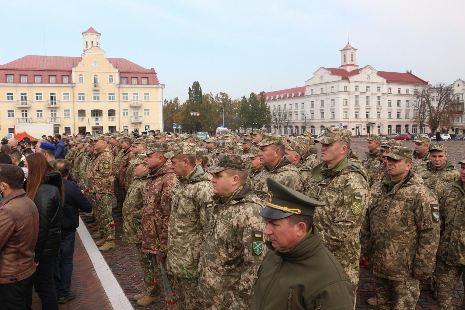 У Чернігові розпочалися урочистості до Дня захисників і захисниць. ФОТО